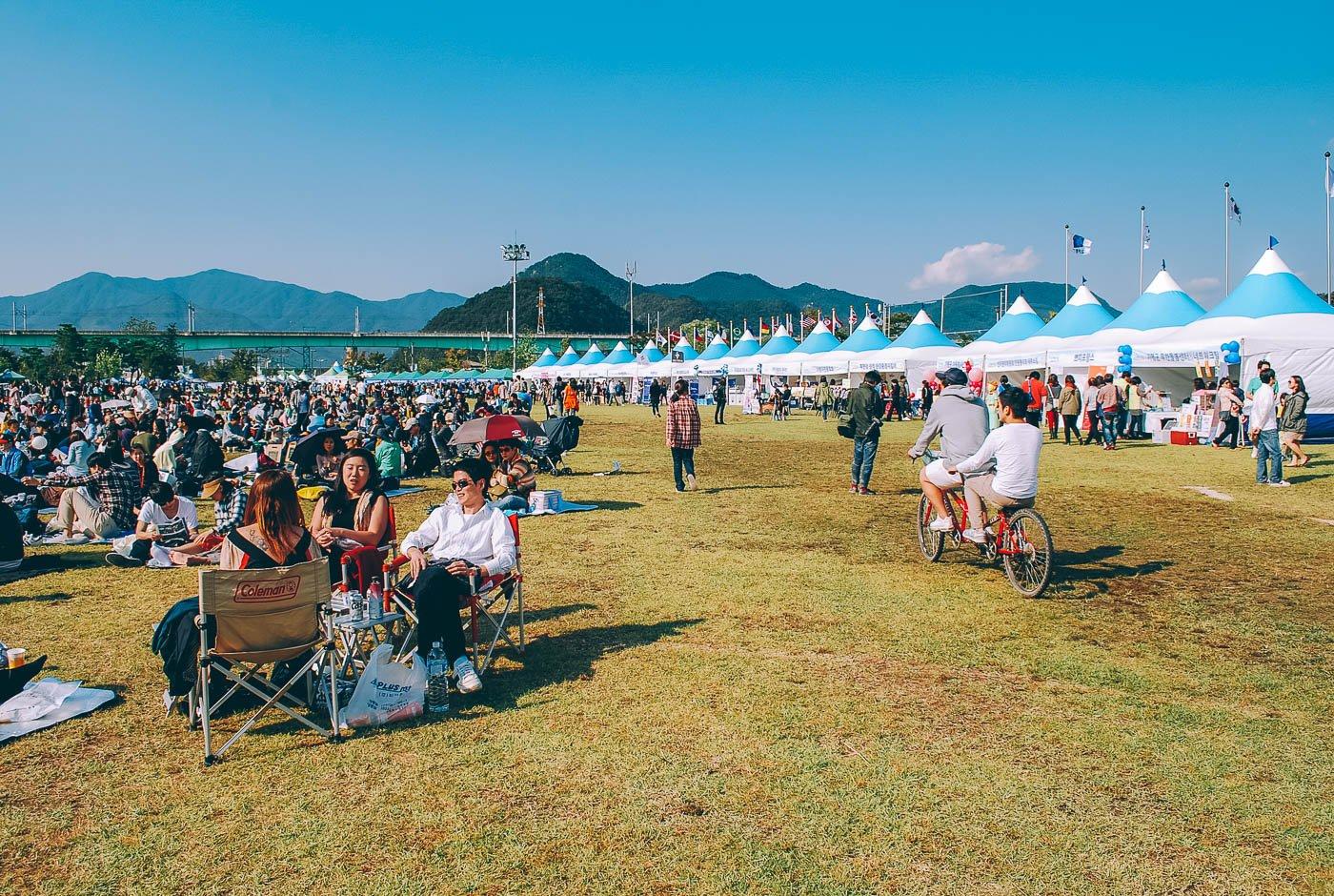 Jarasum Jazz Festival, voyage en Corée du Sud