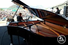 Trio d'en bas Jarasum Jazz Festival Coree du Sud