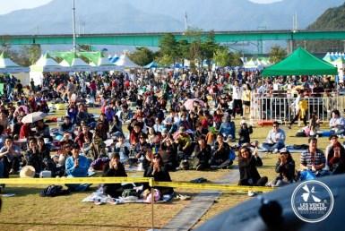 Public du Jarasum Jazz Festival