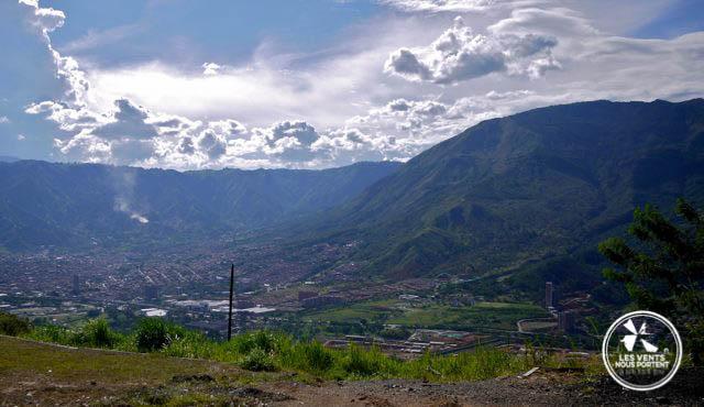 Vue de Medellin Colombie