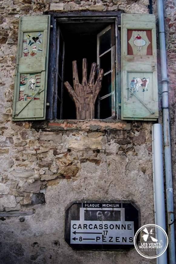 Carcassonne 17km Montolieu Village du Livre France