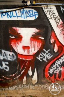 Graffiti Seoul Coree du sud
