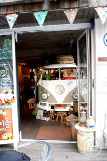 Camion VW Magasin Seoul Coree du sud