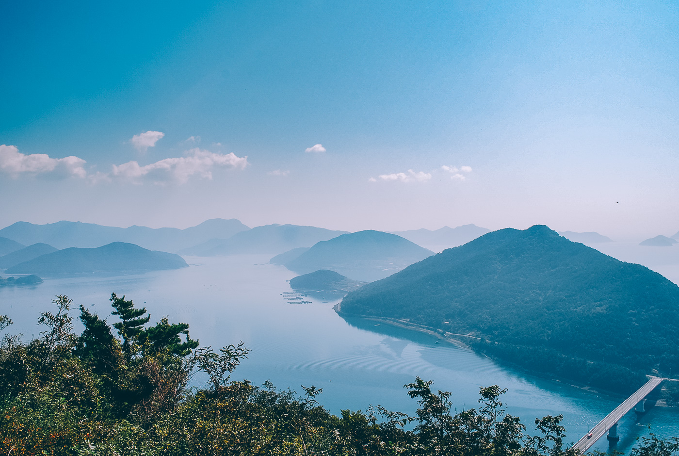 Visiter Tongyeong, voyage en Corée du Sud