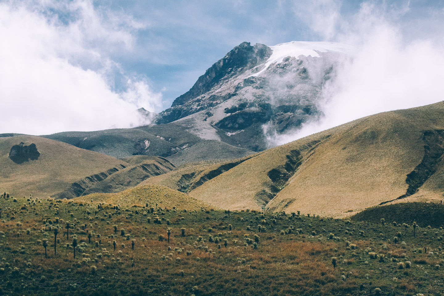 Parc national Los Nevados en Colombie