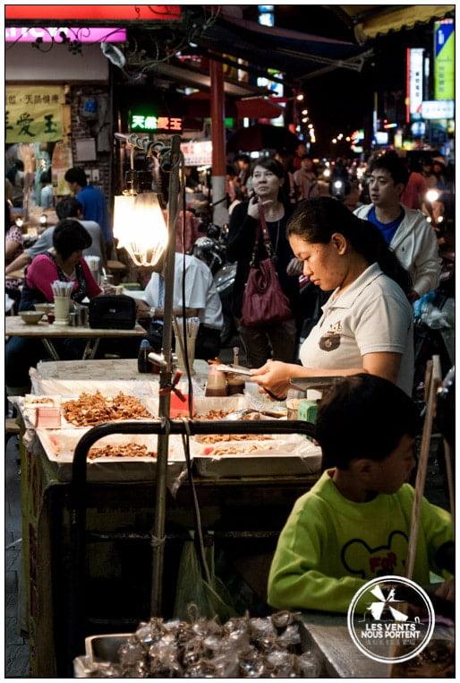 Marchés de Tapei Marché de nuit Voyage Taiwan