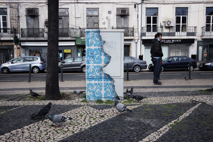 Street Art Portugal Add Fuel