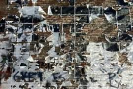 Mur Affiches Rosario Histoire et Société Argentine