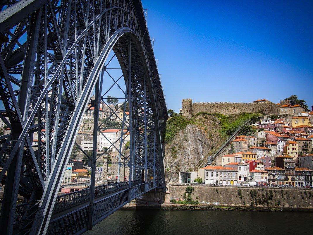 l'autre cote du pont dom luis a porto voyage portugal
