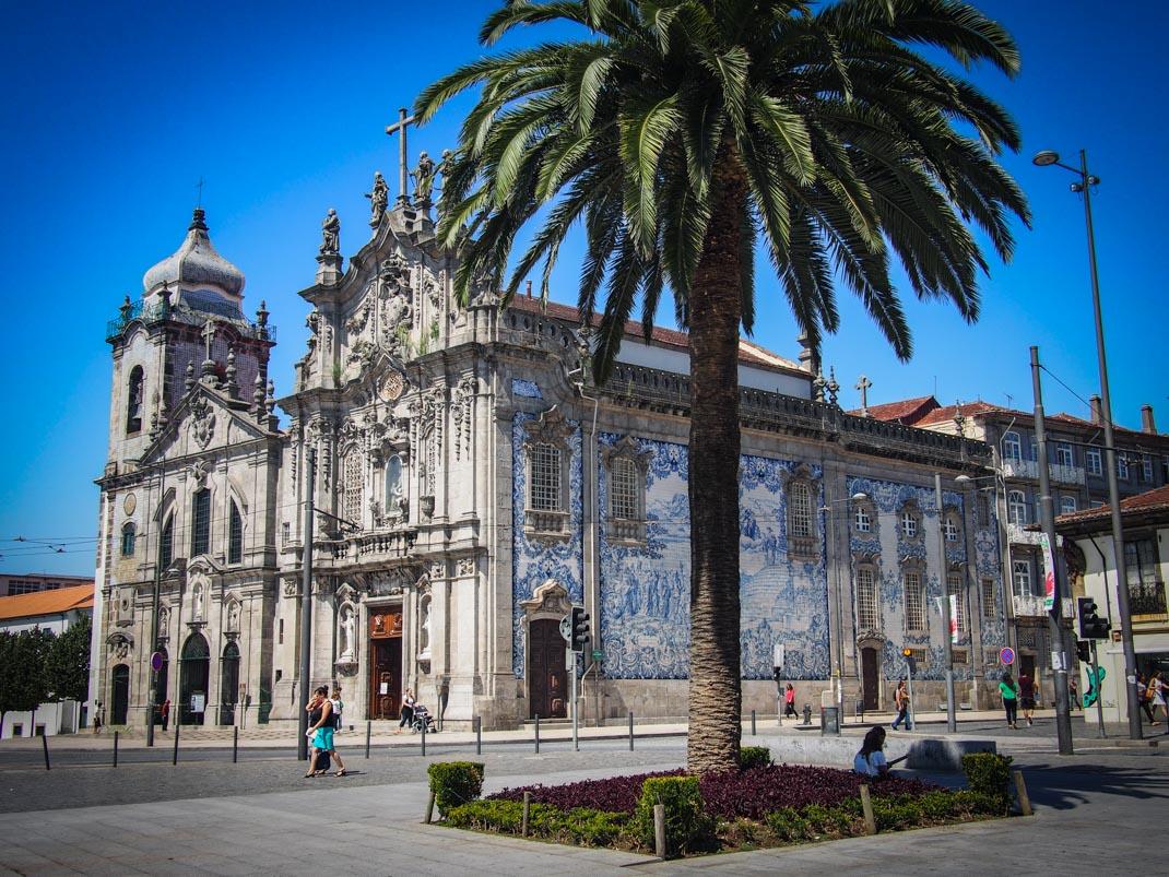 église do carmo et ses azulejos a porto voyage portugal
