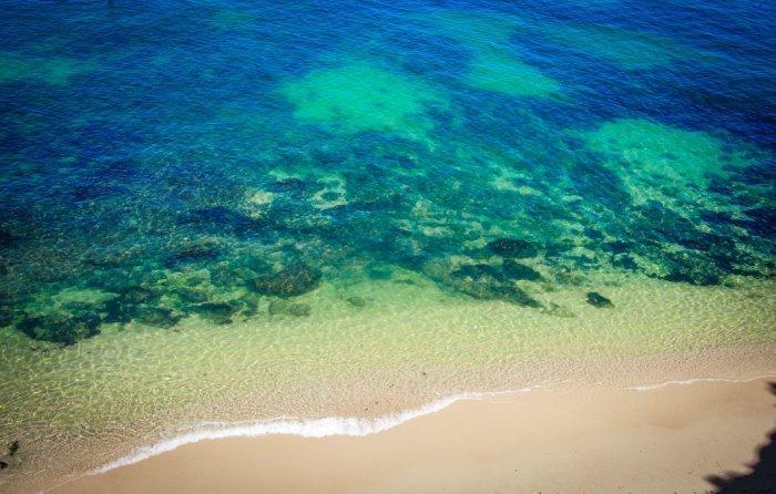 les eaux turquoises de l'agarve voyage portugal