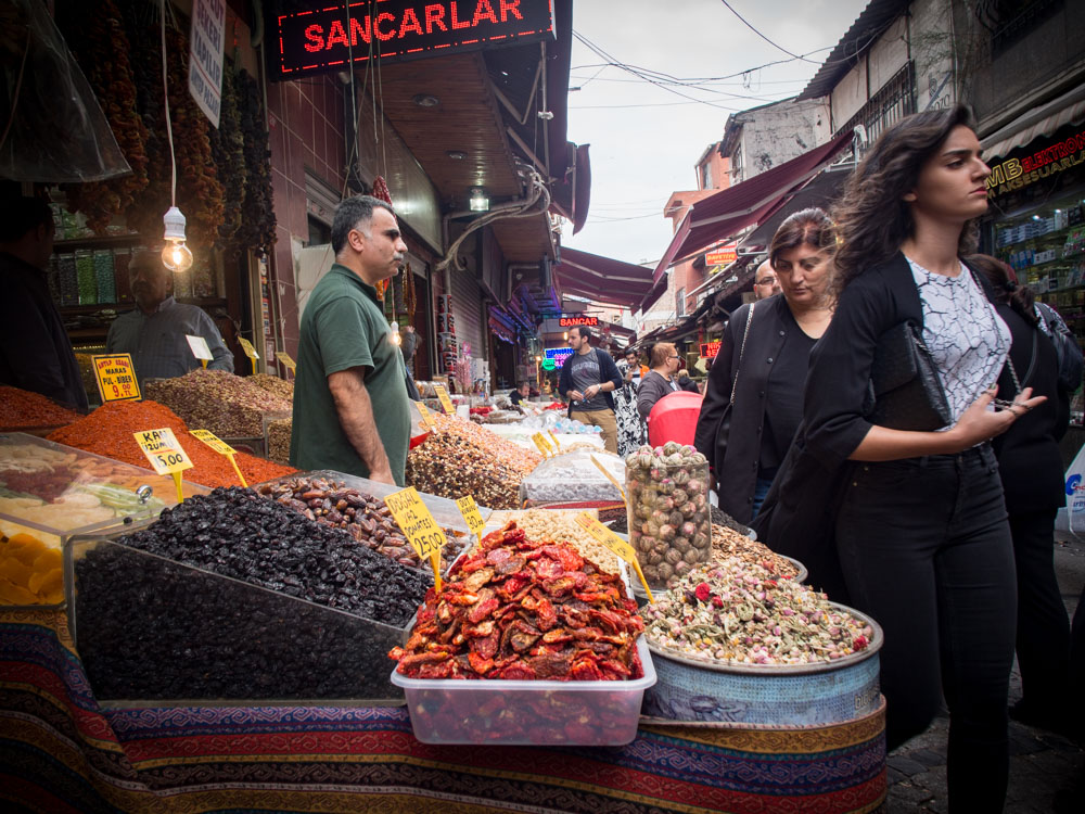 marche epices egyptien istanbul voyage turquie