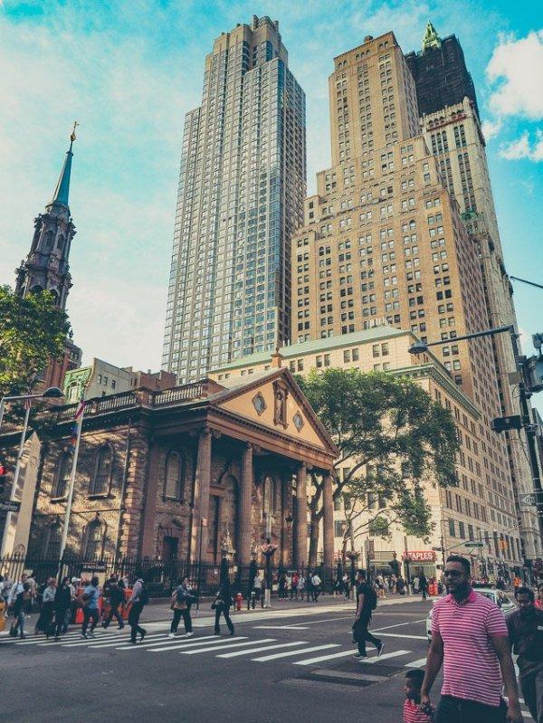 Eglise St Paul new york voyage visite financial district lower manhattan