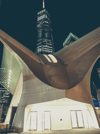 oculus one world trade center new york voyage visite financial district lower manhattan