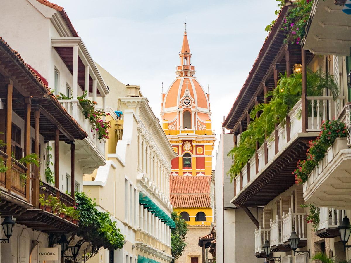 Carthagène en Colombie