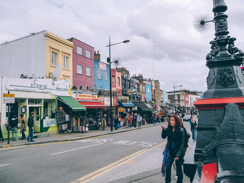 Visiter le marché de Camden Town à Londres