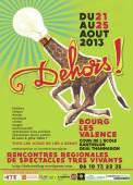 Affiche Dehors ! 2013
