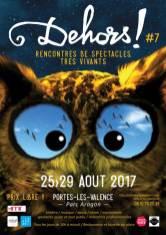 Affiche Dehors ! 2017