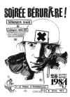 """28 janvier 1984 Ludwig Von 88, Berurier Noir à Emerainville """"la Ferme d'Émerainville"""""""