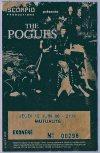 """12 juin 1986 The Pogues à Paris """"La Mutualité"""""""