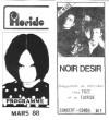 """30 mars 1988 Noir Desir à Nantes """"le Floride"""""""