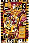 """mai 1988 Gene Clarksville, Bill Pritchard, Chris Wilson and Robin Wills, Mack and The Boys, Kid Pharaon à Evreux """"Hall des Expositions"""""""