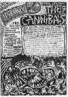 "25 juin 1988 The Cannibals, Pasadenas, Rocco & the Rays, Moonshiners, Witches Valley, Dirteez, les Soucoupes Violentes à Paris ""Salle Marius Magnin"""