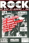 13 juillet 1991 Stepping Stones, Black Maria, Le Cri de la Mouche, Kid Pharaon, Les Thugs, Les Satellites au Roc Saint André