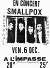 """6 décembre 1991 Smallpox à Orléans """"l'impasse"""""""