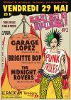 """29 mai 2015 The Midnight Rovers, Brigitte Bop, Garage Lopez à Brétigny sur Seine """"Le Rack'am"""""""