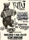 "4 Mai 2016 Frottis de l'Espace, Boris Viande, Yattaj à Orléans ""la Scene Bourgogne"""