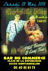 """28 mai 2016 Phil Twangy & Long Tom à Montmorillon """"Bar du Commerce"""""""