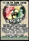 18 juin 2016 Brahim, Max Livio and Band, SRD, Bushmen Reggae Cie, Lord Bitum, Sound Dynamik, M2T La Singerie, Bad Hud à Saint Gondon