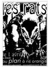 """1er avril 1995 Les Rats à Ris Orangis """"le Plan"""""""