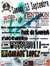 """13 septembre 2008 Garage Lopez, Dolores Riposte, Nichiels, Fuck Da Tourists, les Apprentis à Venthon """"Salle Polyvalente"""""""