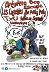 """1er Mars 2013 Brigitte Bop, Makadam, Baffes ou Torgnoles, TxU, Les Cagettes, Escape à Paris """"la Miroiterie"""""""
