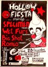 """28 décembre 1990 Big Shot Romeo, Wet Furs, Specimen à Saint Jean de la Ruelle """"Salle des Fetes"""""""