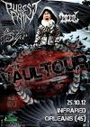 """25 octobre 2012 Polair, Beyond The Styx,  Purest of Pain à Orléans """"Infrared"""""""