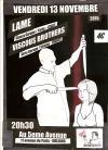 """13 novembre 2015 Viscous Brothers, Lame à Orléans """"5ème Avenue"""""""