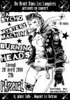 "26 Avril 2014 Da Sycho, Mystery Machine, Burning Heads à Nogent le Rotrou ""L'Arsenal"""