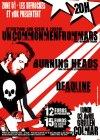 "3 avril 2006 Deadline, Burning Heads, Uncommenfrommars à Colmar ""Grillen"""