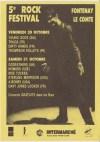 30 octobre 1992 Thompson Rollets, Dirty Hands, Les Thugs, Young Gods à Fontenay le Comte