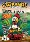 22 aout 2015 Tess, Pogo Car Crash Control, Join da Tease, Brigitte Bop, La Nébuleuse d'HIMA, Tribers à Gironville