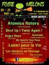 20 aout 2016 My Hand In Your Face, Rewinder, Atomics Rotors, Angry Days, Shut Up Twist Again à Saint Symphorien