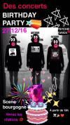"""27 decembre 2016 Justesse Sociale Kleps, Psycho Turick, Old Bones Brigades à Orléans """"La Scene Bourgogne"""""""