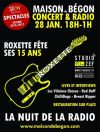 "28 janvier 2017 Les Vilaines Choses, Red Daff, Chillidogs, Breast Ripper à Blois ""Maison Begon"""