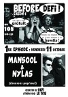 """11 octobre 2013 Mansool et Nylas à Orléans """"le 108"""""""