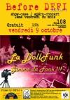"""9 Octobre 2015 La Dollfunk à Orléans """"le 108"""""""
