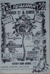 """27 mars 1992 Joueurs, les Cadavres, les Thugs à Vitry Sur Seine """"Theatre Municipal Jean Vilar"""""""
