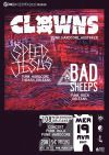 "19 avril 2017 Bad Sheeps, Speed Jesus, Clowns à Orléans ""le 108"""